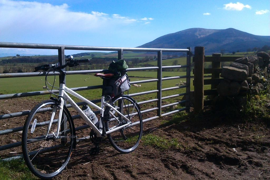 Bike in countryside